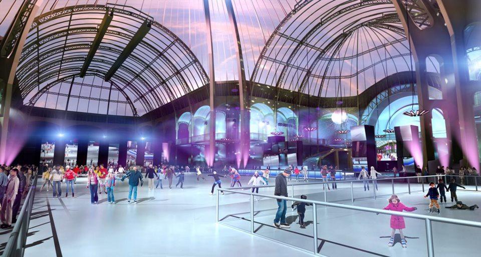 Grand Palais Ice Skating