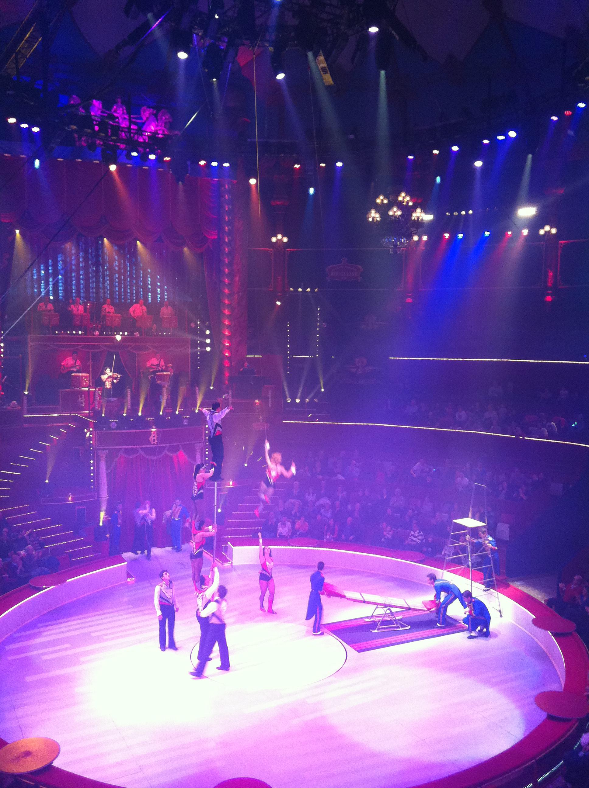 paris sightseeing circus