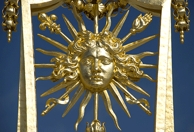 The Golden Gate of the Versailles Palace