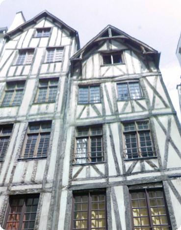 paris Medieval Houses