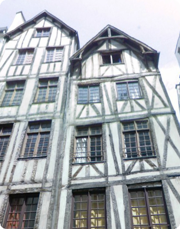 paris Medieval Houses