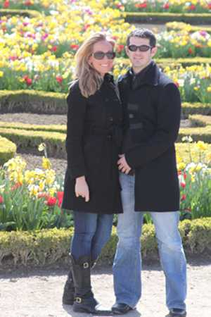Versailles Garden with Courtney and Tony. Paris France.