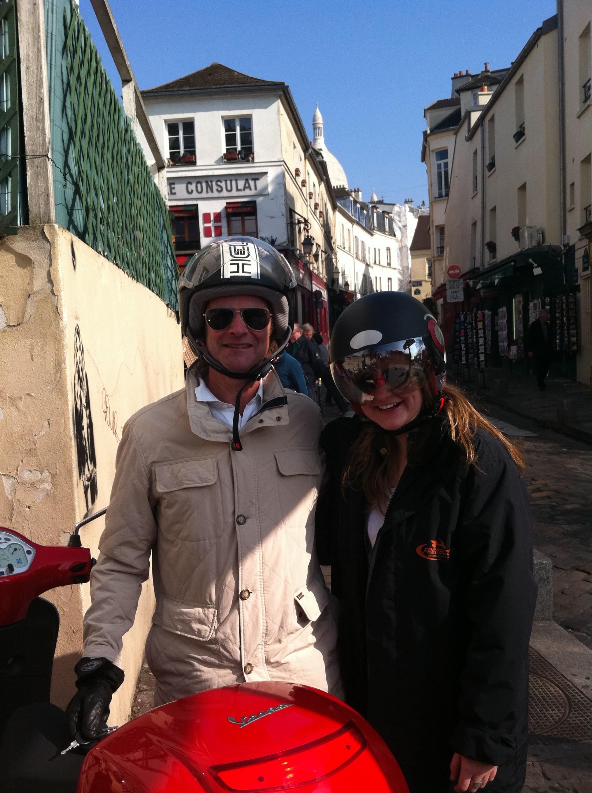 Streets of Montmartre - paris france -