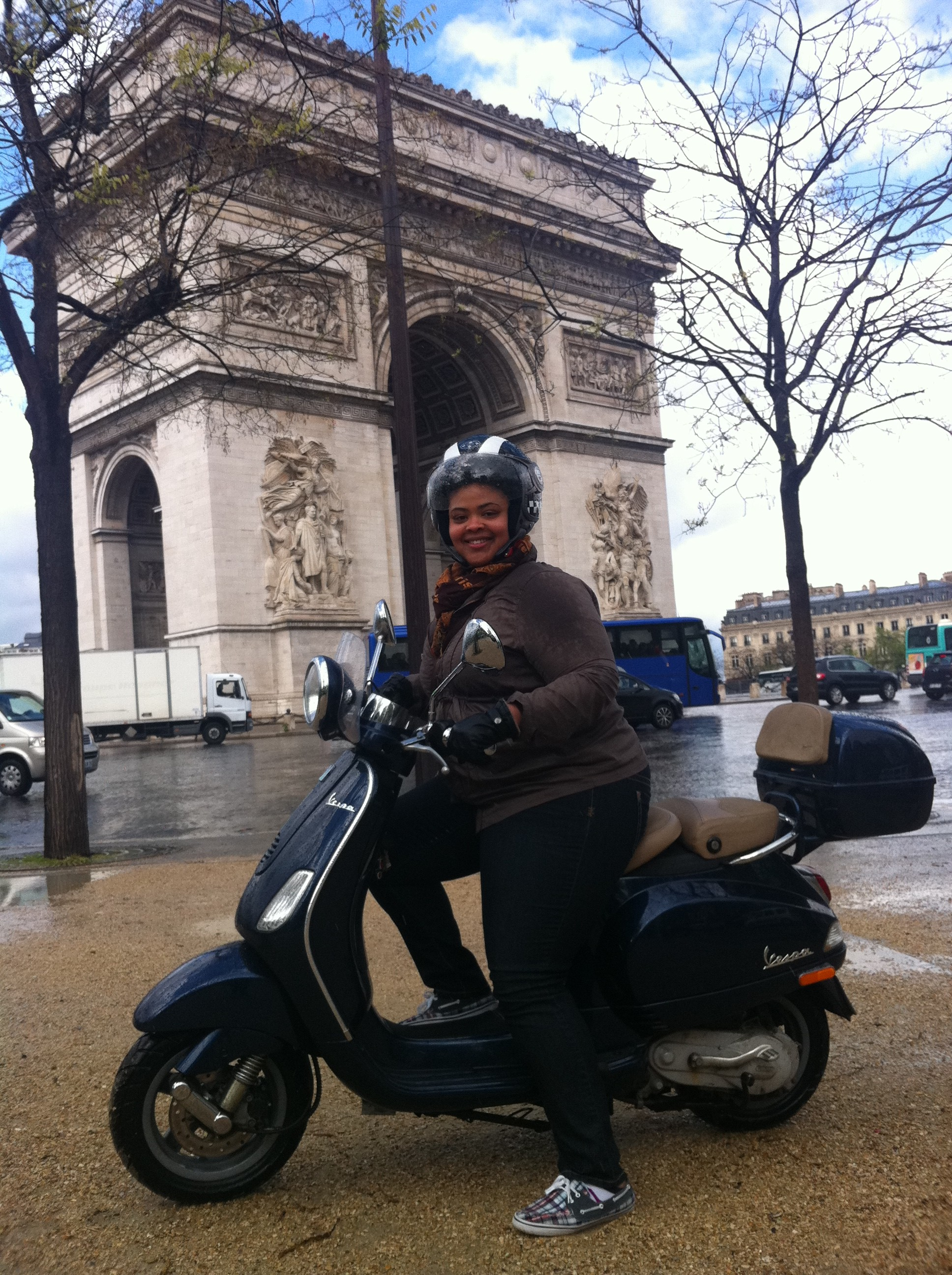 scooter dans paris