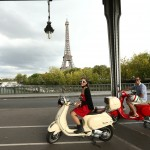 On Bir Hakeim bridge