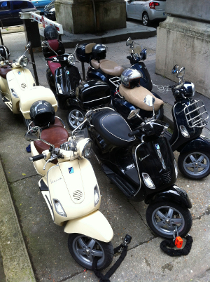 Scooter Rental Paris